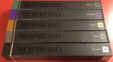 Nespresso Variety Pack 50 Capsules Livanto, Roma, Capriccio + More SEALED