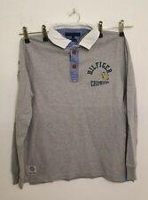 Tommy Hilfiger Herren Shirt Langarm  Pullover Vintage Fit grau Gr. 52 / L   A25
