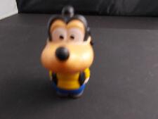 "+/ Disney Goofy Squeeze Figure Squeak Mouth Opens-Ideals Toys wdp 3"" @"