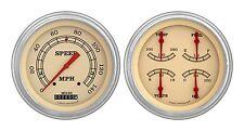 classic instruments 51-52 chevy car gauges ch51vt52 speedo with quad vintage