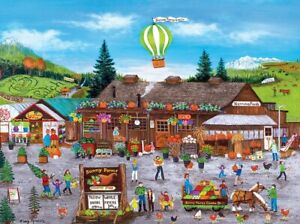 Jigsaw Puzzle Americana Sunny Farms Market Rural Country Store 750 pieces NEW