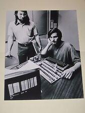 CEO Apple Computers STEVE JOBS + STEVE WOZNIAK 8x10 Print Poster Glossy Photo