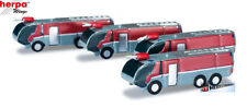Herpa Wings Scenix 1:500 #520867 Airport accessories fire engine set Content: 4
