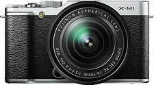 Fujifilm X-M1 Compact System 16MP Digital Camera Kit with 16-50 Lens and 3in LCD