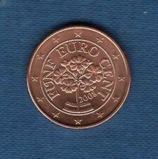 Pièces euro pour 5 Euro Année 2008