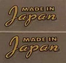Made in Japan decals - 1 Pair (Japa104)