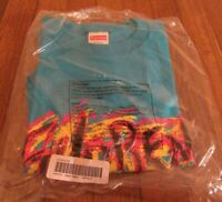 Supreme Scratch Tee T-Shirt Size Large Bright Blue FW20 Supreme New York 2020