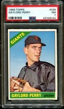 1966 Topps #598 Gaylord Perry PSA 7