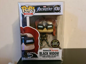 Funko Pop! Games - Avenger's Gamerverse Black Widow limited edition glow chase