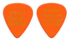 Cheap Trick Rick Nielsen Orange Guitar Pick Beatles Sgt Pepper - 2007 Tour