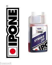 Huile IPONE Stroke 2R 100% Synthetic avec ester 2T cross enduro trial vitesse
