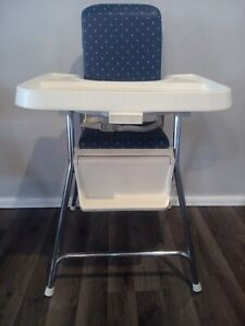 Vintage Blue 1983 Fisher Price Highchair High Chair