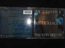 CD RY COODER / RIVER RESCUE / THE VERY BEST OF /