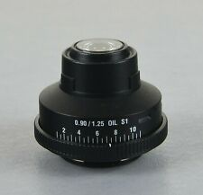 Leica Microscope Slider Condenser 0.90/1.25 S1 Oil 13593030 + Filter 13596001