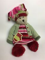 "Trade Secret TS Jointed 16"" Plush Bear Holly 2005 with Tag"