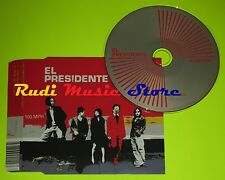 CD Singolo EL PRESIDENTE 100 Mph Uk 2005 SONY BMG  82876692142 mc dvd (S6)