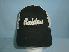OAKLAND RAIDERS   Reebok  NFL soft mesh distressed  SNAPBACK  CAP/HAT   NWT  scr