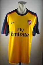 Arsenal London Trikot Gr. XXL 2008-2009 Fly Emirates Shirt Jersey Nike Away gelb