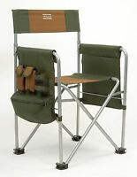 Shakespeare Director's Chair with Pockets Pouch Drinks Holder Camping Hiking