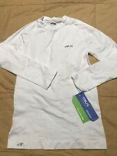 Trius Low Compression Long Sleeve White Shirt Us Small