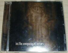 IN THE COMPANY OF HEROES CD PRIVATE LABEL PUNK ROCK 2004 METAL