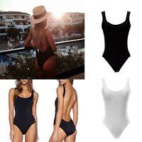 One Piece Women's Bikini Push up Padded Bra Swimsuit Bathing Swimwear Beachwear