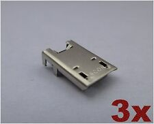 x3 Micro USB Charging Port Dock Connector For Asus Memo Pad 7 LTE ME375CL K00X