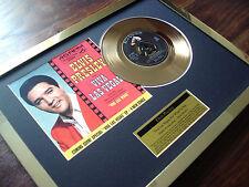 "ELVIS PRESLEY VIVA LAS VEGAS 24CT GOLD PLATED DISC 7"" SINGLE RECORD DISC AWARD"