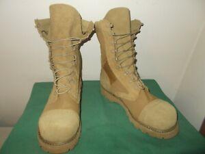 Mens 11.5 D Corcoran 10 Inch Steel Toe Marauder Military Jump Boot  USA  CV27546