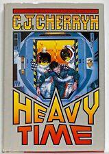 C. J. CHERRYH— HEAVY TIME— Warner Books (1991)— SFBC #18287  —Cover by Don Maitz