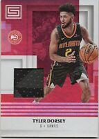 Atlanta Hawks Tyler Dorsey 2017-18 Panini Status Jersey Rookie #M-TDS