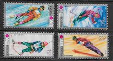 POLAND , 1972 WINTER OLYMPICS , SPORTS , SET OF 4  , PERF , MNH