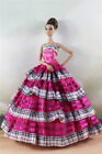 Fashion Party Dress/Wedding Clothes/Gown For 11 in. Doll d18