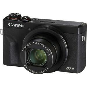 New Canon PowerShot G7 X Mark III Digital Camera - BLACK
