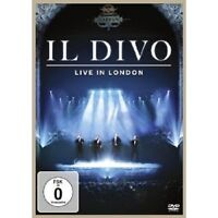 "IL DIVO ""LIVE IN LONDON"" DVD NEU"