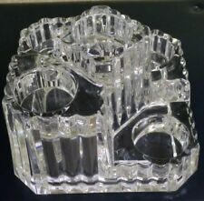 PartyLite 24% Lead Crystal 5 Tier Tea Light Candle Holder ~ Heavy