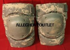 US Military Bijan's Tactical Protective KNEE PADS Paintball ACU CAMO LARGE VGC