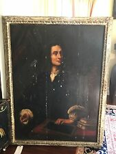 EARLY EUROPEAN ANTIQUE OLD MASTER OIL PORTRAIT YOUNG GENTLEMAN EL GRECO styleTLC