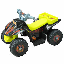 Kids Electric Ride-on Car Motor Bike Off Road Style Battery Operated Black