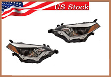 FOR 2016 2015 2014 TOYOTA COROLLA HEADLIGHT BOTH LEFT & RIGHT SIDE PAIR