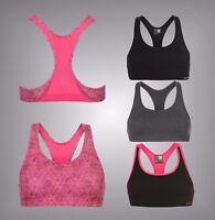 Ladies Karrimor Breathable Racer Back Tempo Sports Bra Top Size 8 10 12 14 16 18