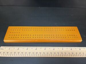 Two Track Wooden Cribbage Board