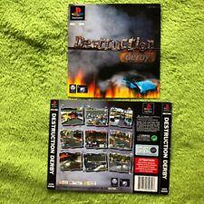 PS1 - Destruction Derby (Front- & Backcover)