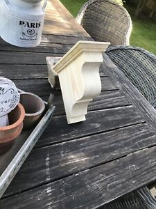 A Pair  Of Extra Large Redwood Corbels