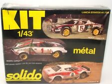 SOLIDO VINTAGE NO. 73K 1/43 LANCIA STRATOS METAL KIT -  MINT BOXED