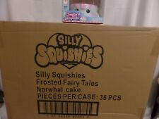 Silly Squishies case of 36 Narwhal Cakes RARE!!!!!!!!!!!!!!!!