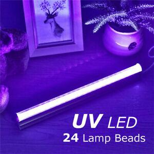 6W UV Bar Black Light 24LED Disco Stage Lighting Halloween DJ Christmas Lamp New