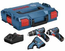 Bosch GSB12V-15  Drill + GDR12V-105 Impact Driver 2 X Li-ion 12v Charger L-Boxx