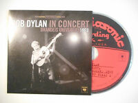 "BOB DYLAN : IN CONCERT ""HONEY, JUST ALLOW ME"" ♦ CD ALBUM PORT GRATUIT ♦"