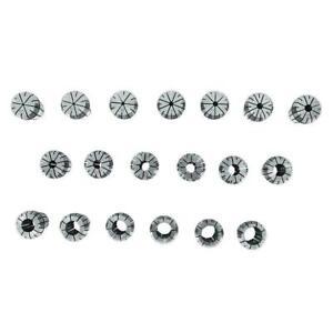 19pcs Set ER32 High  Spring Steel Collet Set CNC Milling Lathe Tools